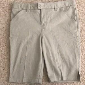Brand new girls Adjustable waist uniform shorts
